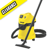 Karcher WD3.500P 1400W 17/Ltr Wet & Dry Vacuum Cleaner 230V
